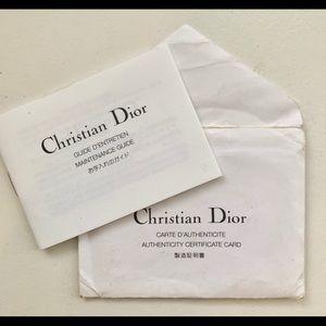 Dior Bags - Authentic Dior canvas monogram Boston bag